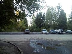Установлена дополнительная парковка на улице Советская