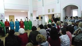 4 октября в Доме культуры состоялся праздничный концерт, приуроченный ко Дню пожилого человека.