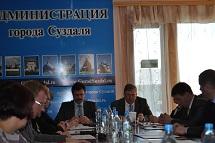 Заседание Совете народных депутатов города Суздаля 15.03.2016