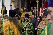 14 апреля 2016 года в Спассо-Евфимиевом монастыре в г.Суздале прошли торжества в память о преподобном Евфимии Суздальском.