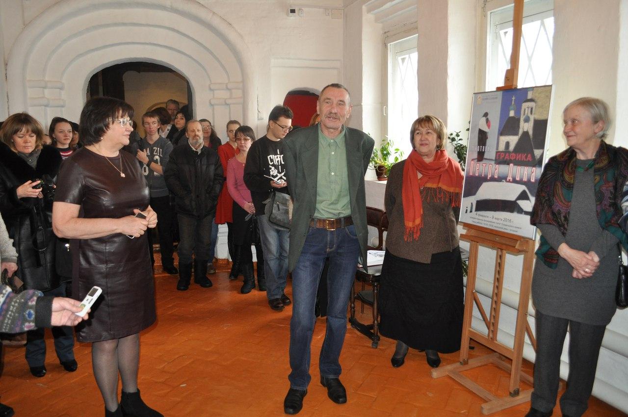 Выставка Петра Дика в Суздале