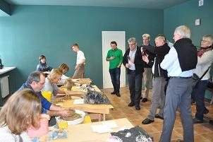 Культурная программа немецкой делегации в Суздале