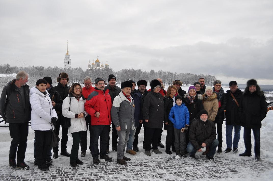 Культурная программа немецкой делегации во Владимире.