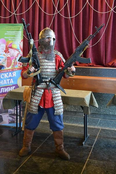 Военно-патриотический праздник в Суздале
